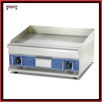 Gainco EG-600 Energy efficient Electric Griddle used to fry steak