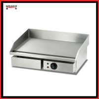 Gainco EG818 Energy efficient Electric Griddle used to fry steak