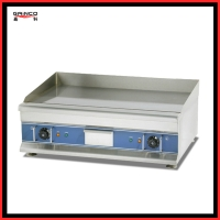 Energy efficient Electric Griddle used to fry steak EG750
