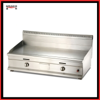 Gainco GT1000 Energy efficient Electric Griddle used to fry steak