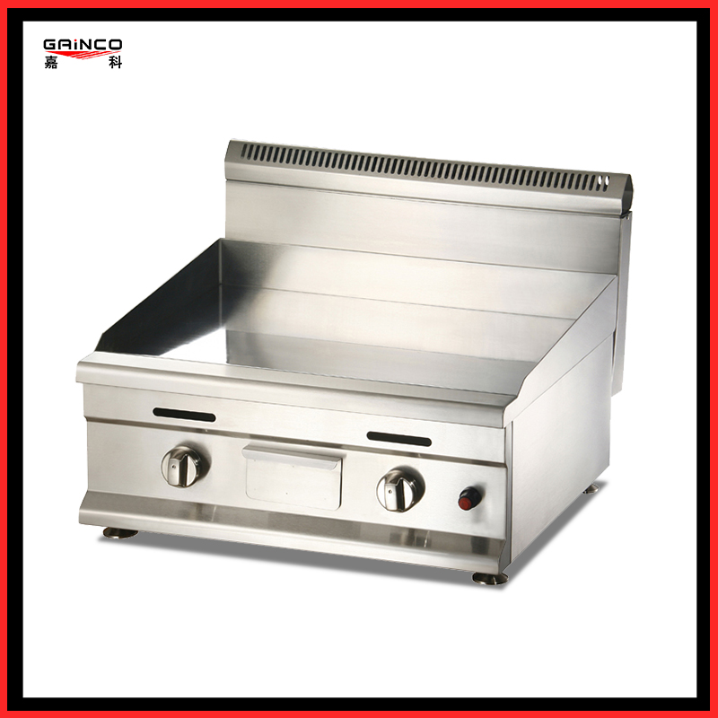 stainless steel gas griddle chrome surface GT750D