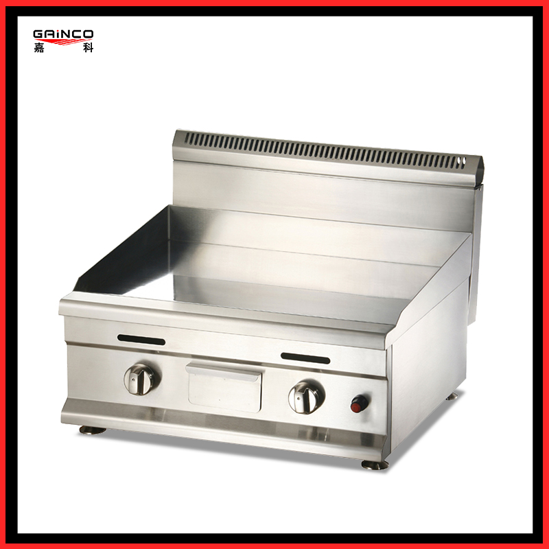 gas griddle chrome surface  Western kitchen equipment GT1000D
