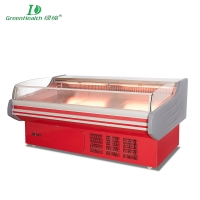 GreenHealth GHE-12 Large capacity efficient Fresh Meat Showcase