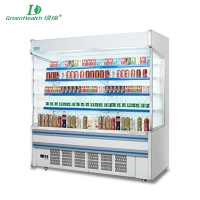 GreenHealth GHF-20 Large field of view large capacity Multi-deck Open chiller A