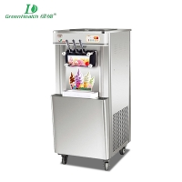 GREENHEALTH stainless steel ice cream machine vertical models GHJ-L52
