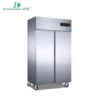 Commercial Cold Chain Series Kitchen Fridge Freezer Refrigeration cabine Stainless steel LD-1.0L2F