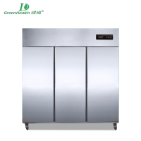 Commercial Cold Chain Series Kitchen Fridge Freezer Refrigeration cabine Stainless steel LD-1.6L3F
