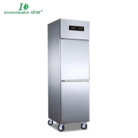 Commercial Cold Chain Series Kitchen Fridge Freezer Refrigeration cabinet LD-0.5L2F