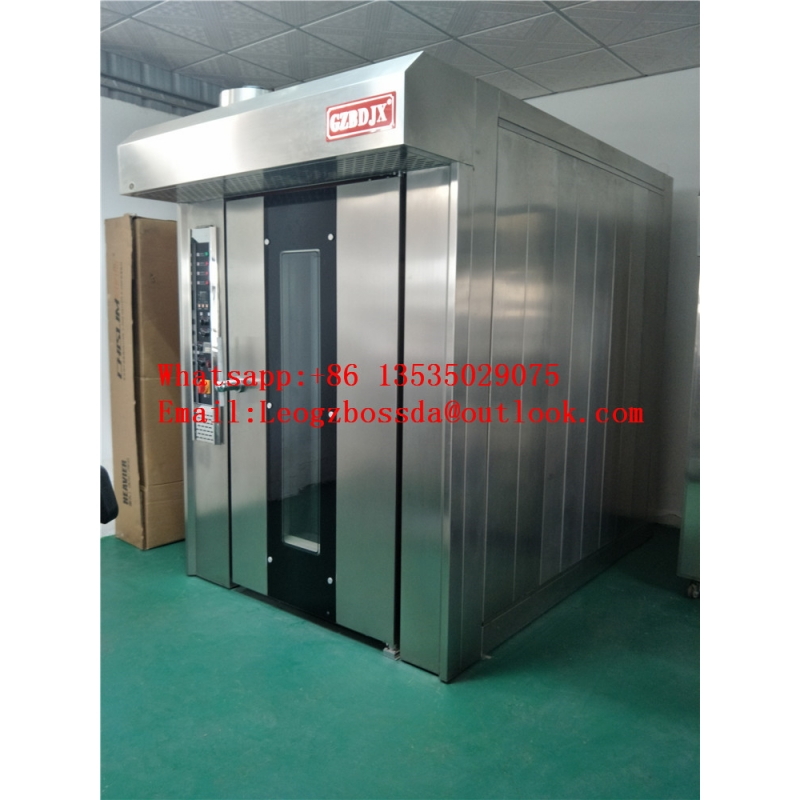 32 Trays Luxury Gas Rotary Oven for Bakery Factory