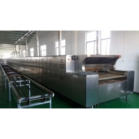 Professional Tunnel Gas Oven for food factory with PLC Controlling System